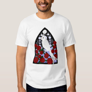 Cockatiel & Roses T Shirt