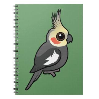 Cockatiel Spiral Notebook