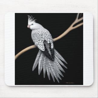 Cockatiel Whitefaced Mousepad de la perla Alfombrillas De Raton