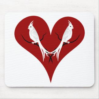 Cockatiels Mouse Pad