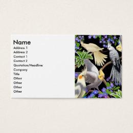 Cockatiels Profile Card
