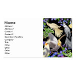 Cockatiels Profile Card Business Card Templates