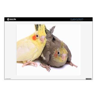"Cockatiels 14"" Laptop Skins"
