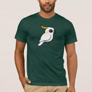 Cockatoo Amarillo-con cresta (escudo abajo) Playera