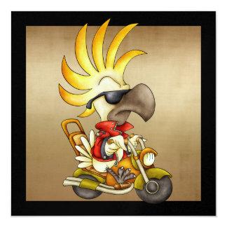 Cockatoo Biker - SRF Card