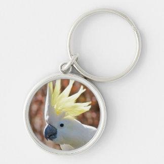 Cockatoo Bird Peace Love Destiny Gifts Keychain