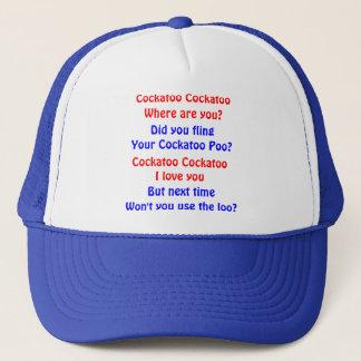 Cockatoo Cockatoo Trucker Hat