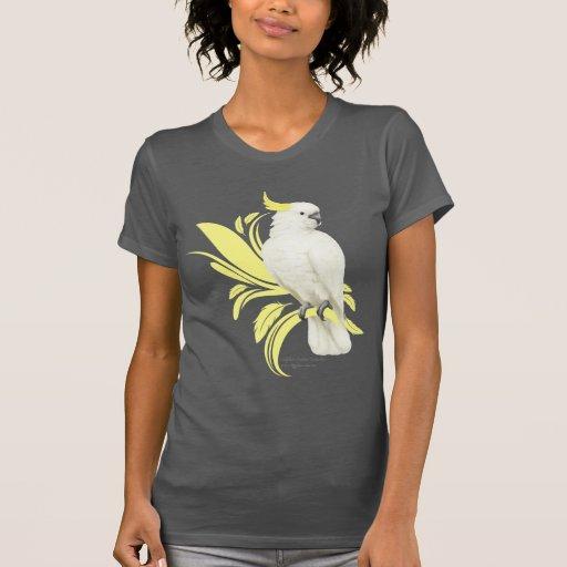 Cockatoo con cresta del azufre camiseta