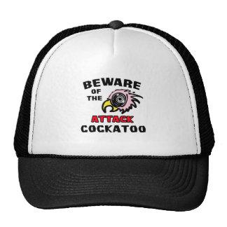Cockatoo del ataque gorro