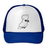 Cockatoo del paraguas (criado) gorras de camionero