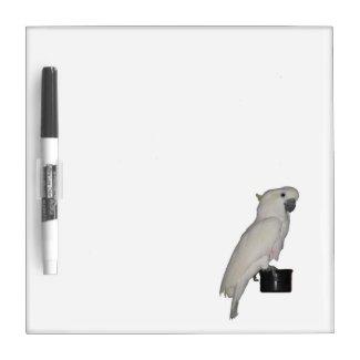 Cockatoo Dry Erase Board