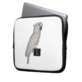 Cockatoo Electronics Bag