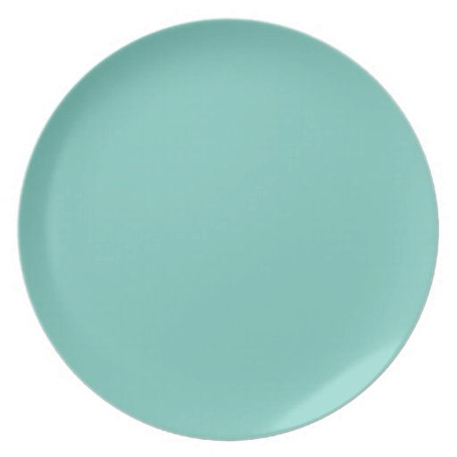 Cockatoo Fashion Solid Color Pattern Dinner Plates