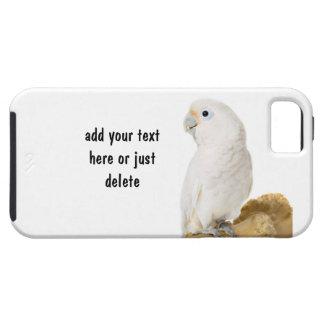 Cockatoo, foto hermosa del pájaro blanco del loro, iPhone 5 cárcasa