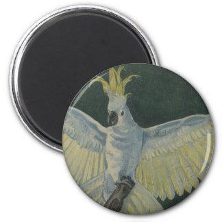 Cockatoo Fridge Magnet