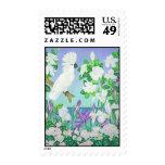 Cockatoo Gardenias and Iris Stamps