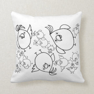 Cockatoo Grade A Cotton Cushion 41 cm x 41 cm Pillow