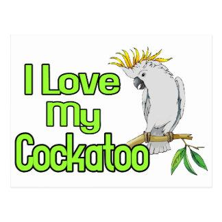 Cockatoo Love Post Cards
