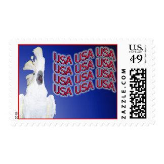 Cockatoo Medium USPS USA Stamps