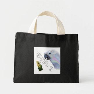 Cockatoo Meets The Corn King Tote Bags