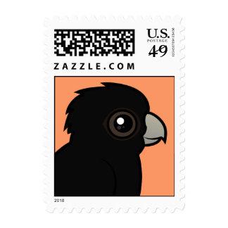 Cockatoo negro Rojo-atado Envio