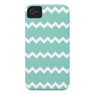 Cockatoo Turquoise Chevron Iphone 4/4S Case