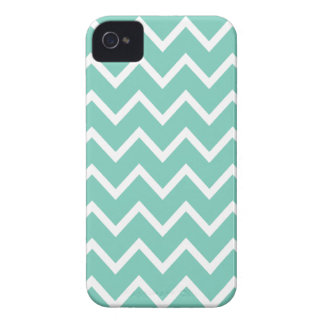 Cockatoo Turquoise Chevron Iphone 4S Case iPhone 4 Cases