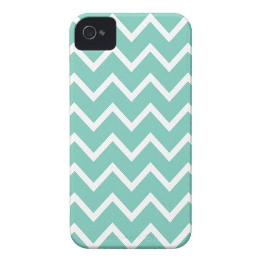 Cockatoo Turquoise Chevron Iphone 4S Case