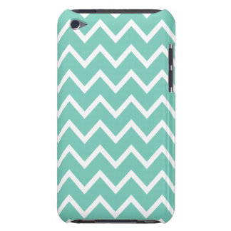 Cockatoo Turquoise Chevron iPod Touch G4 Case