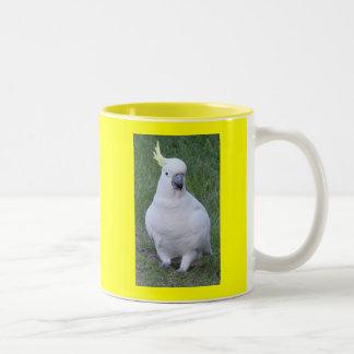 Cockatoo Two-Tone Coffee Mug
