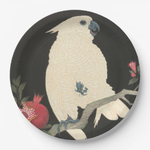Cockatoo Vintage Japanese Fine Art Paper Plates  sc 1 st  Zazzle & Vintage Japanese Art Plates | Zazzle
