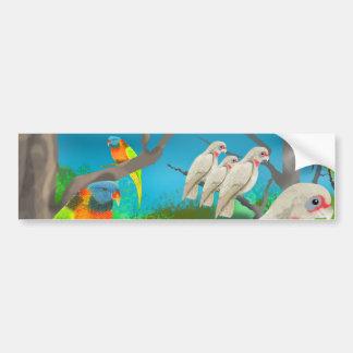 Cockatoos and Friends Bumper Sticker