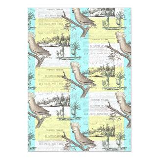 Cockatoos Colonial Dream Card