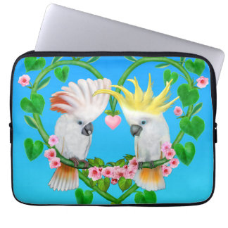 Cockatoos of the Heart Laptop Sleeves