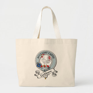 Cockburn Clan Badge Canvas Bag
