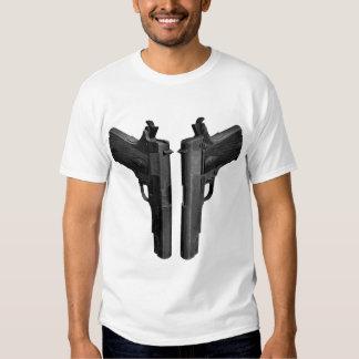 Cocked 1911 Pistol Tee Shirt