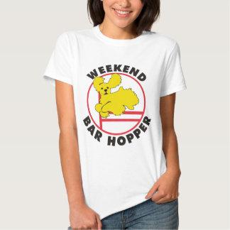 Cocker Agility Weekend Bar Hopper T Shirt