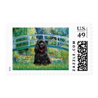 Cocker (black) - Bridge Stamp