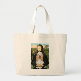 Cocker (Buff) - Mona LIsa Jumbo Tote Bag