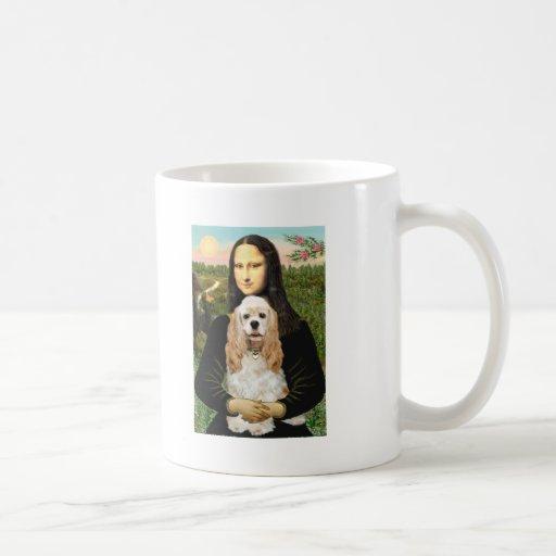 Cocker (Buff) - Mona LIsa Classic White Coffee Mug