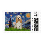 Cocker (Buff) - Starry Night Stamps