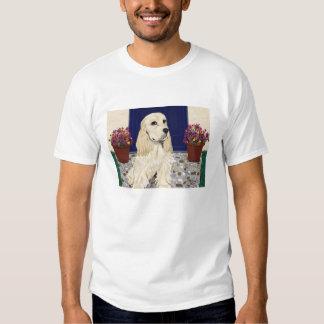 Cocker en camiseta de los guijarros w/Chrys Remera