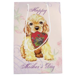 Cocker Heart Mom Medium Gift Bag