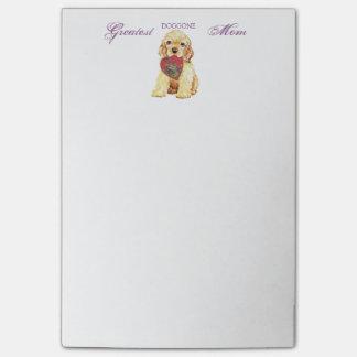 Cocker Heart Mom Post-it® Notes