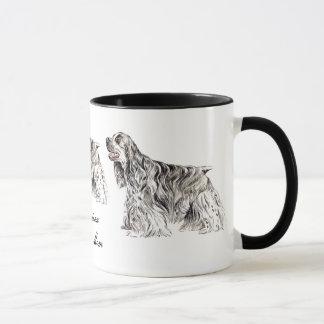 Cocker Mom, American Cocker Spaniel Ceramic Mug