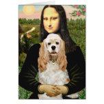 Cocker (piel de ante) - Mona Lisa Felicitaciones