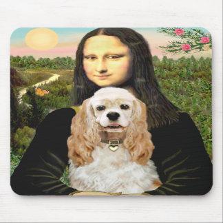 Cocker (piel de ante) - Mona Lisa Alfombrillas De Ratón