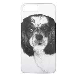 Case-Mate Tough iPhone 7 Plus Case with Cocker Spaniel Phone Cases design
