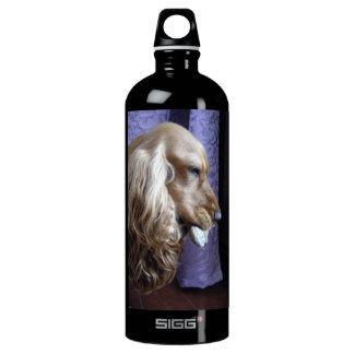 Cocker Spaniel Aluminum Water Bottle