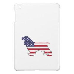 Case Savvy iPad Mini Glossy Finish Case with Cocker Spaniel Phone Cases design